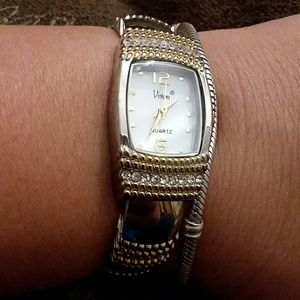 Accessories - Gold and silver  ornate watch